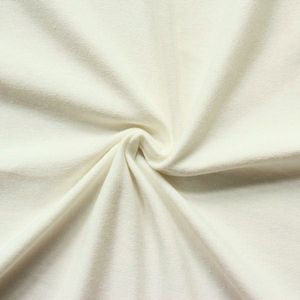 Cotton Stretch Jersey Fabric Basic 2 colour: Cream