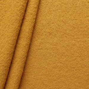 100 % Boiled Wool Fabric colour: Curry