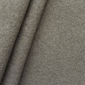 100 % Boiled Wool Fabric colour: Taupe