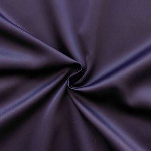 Stretch Satin Fabric 2 colour: Aubergine