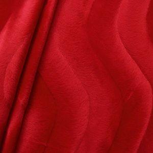 Super Luxurious Teddy Bear Fur colour: Red