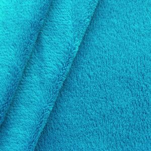 Wellness Fleece thick and super soft colour: Turquoise Blue