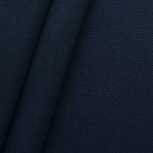 100% Cotton Twill Fabric middleweight article ' Fashion Standard ' colour: Night Blue