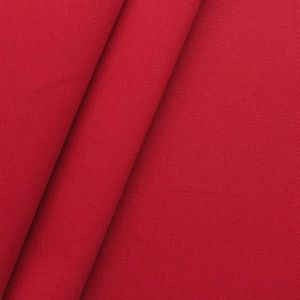 100% Cotton Twill Fabric middleweight article ' Fashion Standard ' colour: Red