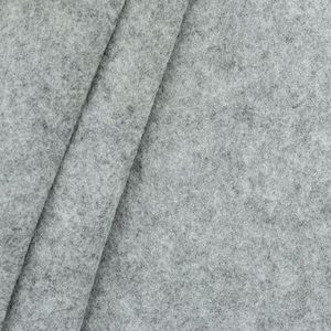 Felt / Baize crafting fabric 180 cm wide color: Mottled Light Grey