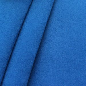 crafting Felt Baize fabric thickness 3,0 mm 90 cm wide colour Royal Blue