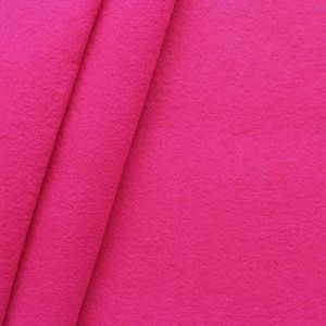crafting Felt Baize fabric thickness 3,0 mm 90 cm wide colour Pink
