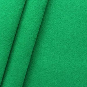crafting Felt Baize fabric thickness 3,0 mm 90 cm wide colour Grass Green