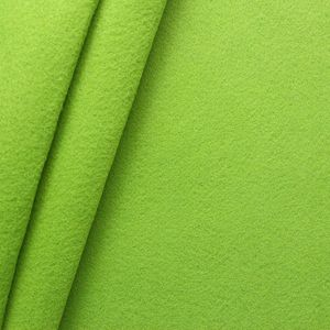 crafting Felt Baize fabric thickness 3,0 mm 90 cm wide colour Linden Green