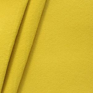 crafting Felt Baize fabric thickness 3,0 mm 90 cm wide colour Yellow