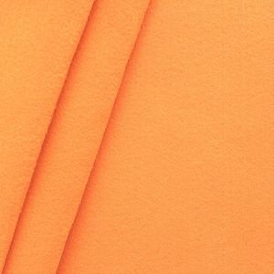 crafting Felt Baize fabric thickness 3,0 mm 90 cm wide colour Orange