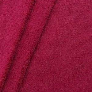 Wellness Fleece thick and super soft colour: Bordeaux