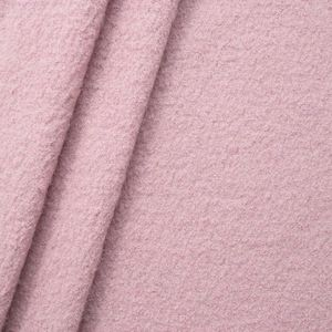 100 % Boiled Wool Fabric colour: Rose