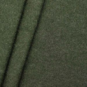 100 % Boiled Wool Fabric colour: Hunter Green