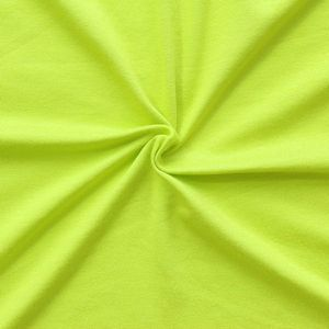 Viscose Stretch Jersey Fabric article: Basic colour: Lime Green