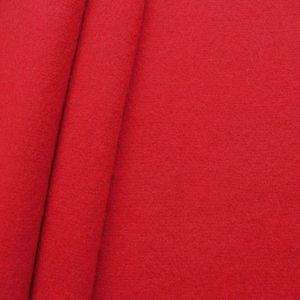 Wool Felt Fabric colour: Carmine Red