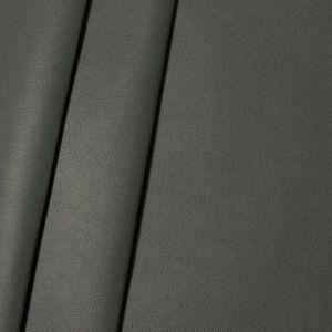Imitation cuir nappa de poids moyen couleur: Gris Foncé