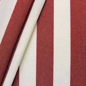 Awning fabric Art. Toldo ' Stripes ' Red White