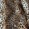 Super Luxurious Leopard 2 Faux Fur Brown Beige