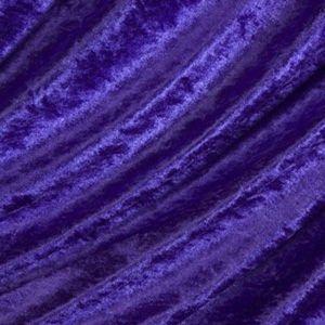 Purple Crushed Velvet fabric
