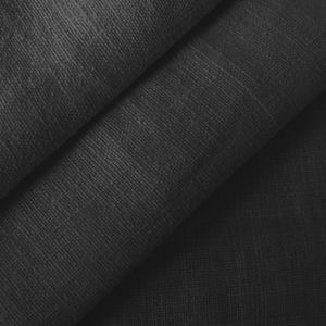 100% pure Linen Fabric, article: Barcelona, colour: Black