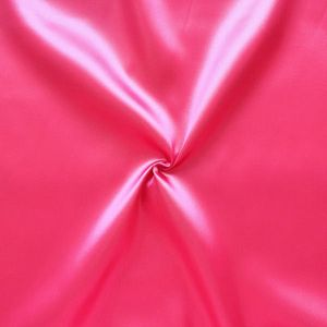 Polyester Satin Fabric colour: Pink