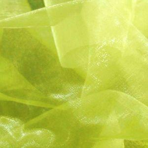 Monochrome Organza Linden - Green