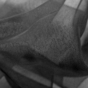 Monochrome Organza Black