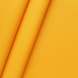 Waterproof Oxford 600D Polyester Fabric colour: Yellow