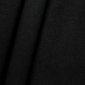 Black Flame Retardant Cotton Muslin approx. 320cm wide