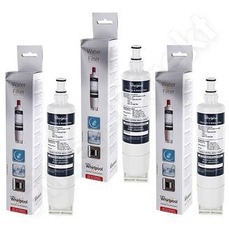 3 x Whirlpool Kühlschrank Wasserfilter SBS200 / 484000008726 ersetzt SBS002 / 481281729632