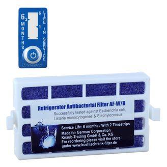 2 Antibakterien Filter AF-W/B kompatibel mit Whirlpool / Bauknecht