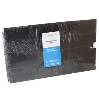 Filtronix Aktivkohlefilter alternativ zu Wpro CHF035, 481948048355, Typ 35