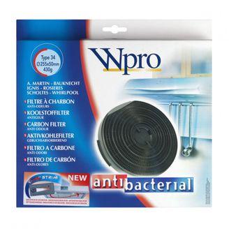 Wpro Antibakterieller Aktivkohlefilter FAC349, 481281718531, Typ 34 - CHF34 - 484000008610 online kaufen