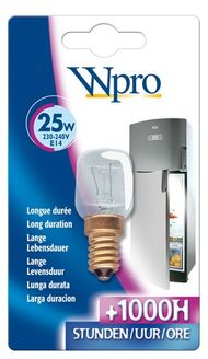Wpro Kühlschranklampe 25w 481281728319, LRF 006