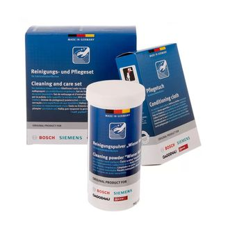 Bosch, Siemens, Neff, Gaggenau Pflegeset 00311964 für moderne Edelstahloberflächen