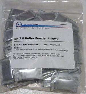 HM Digital pH Pufferlösungsbeutel pH-7 einzeln 100 Stück