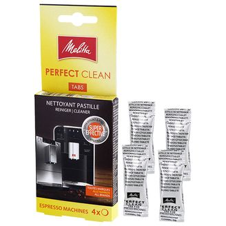 10x Melitta Perfect Clean Reinigungstabletten 1500791