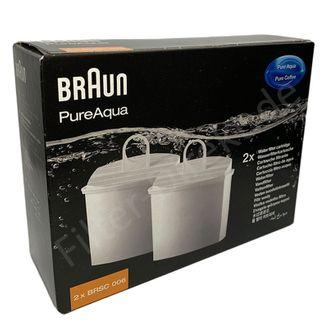 10 x Braun Wasserfilter BRSC006 PureAqua für AromaSelect