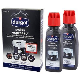 10 x Durgol Swiss Espresso Spezial Entkalker DED 18 (2 x 125 ml)