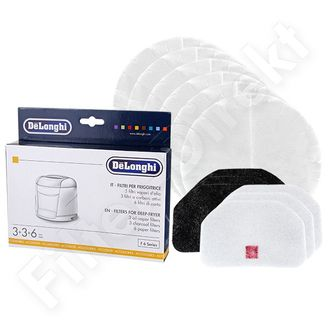 Delonghi Filter für Friteusen F6-12 Series DL SKU 5525102200 online kaufen