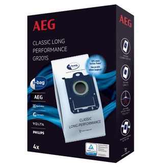 AEG s-bag®  Staubbeutel Classic Long Performance GR201S, 9001684746