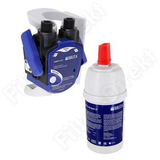 Universal Anti Kalk Filter Wasserfilter Set Brita C50 inkl. Filterkopf
