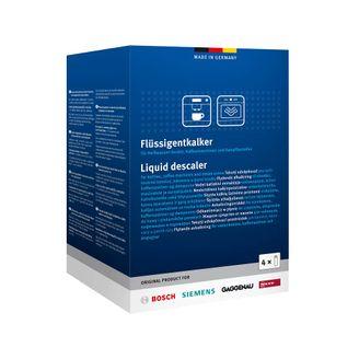 4er Pack Bosch, Siemens, Gaggenau, Neff Entkalker, Flüssigentkalker 00312012 Ersatz von 00312089, 312089