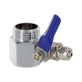 """3/4"""" Wasseranschluss für Kuehlschrank mit Absperrhahn"""