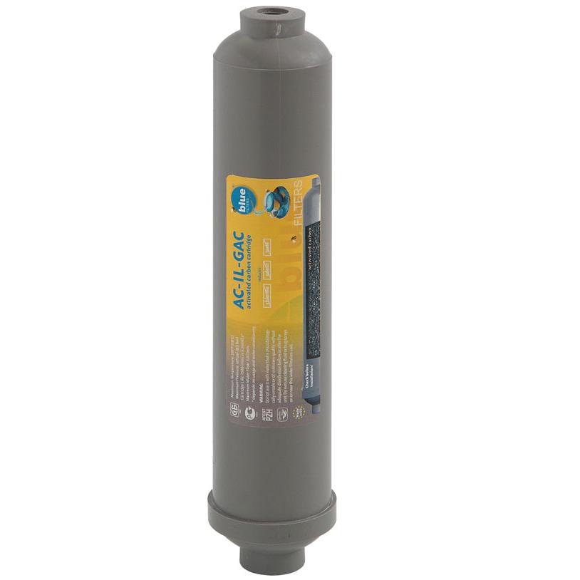 Bluefilters AC-IL-GAC Inline-Post-Carbon Nachfilter Filter Wasserfilter