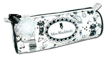 Miss Blackbirdy Federmappe, rund – Bild 1