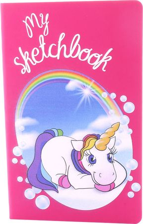 Sketchbook DIN A5 Einhorn liegend My Sketchbook blanko