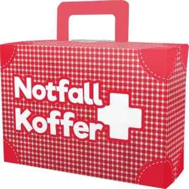 Notfall-Koffer Geschenkbox