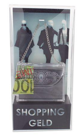Shopping Geld Flaschentaschen